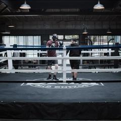 Tyler and Tony boxing