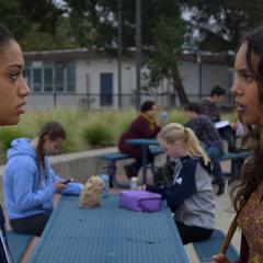 Nina and Jessica arguing