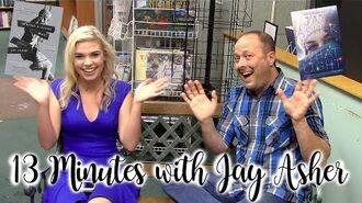 13 Minutes With Jay Asher Taylicious Reads