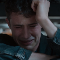 Clay crying