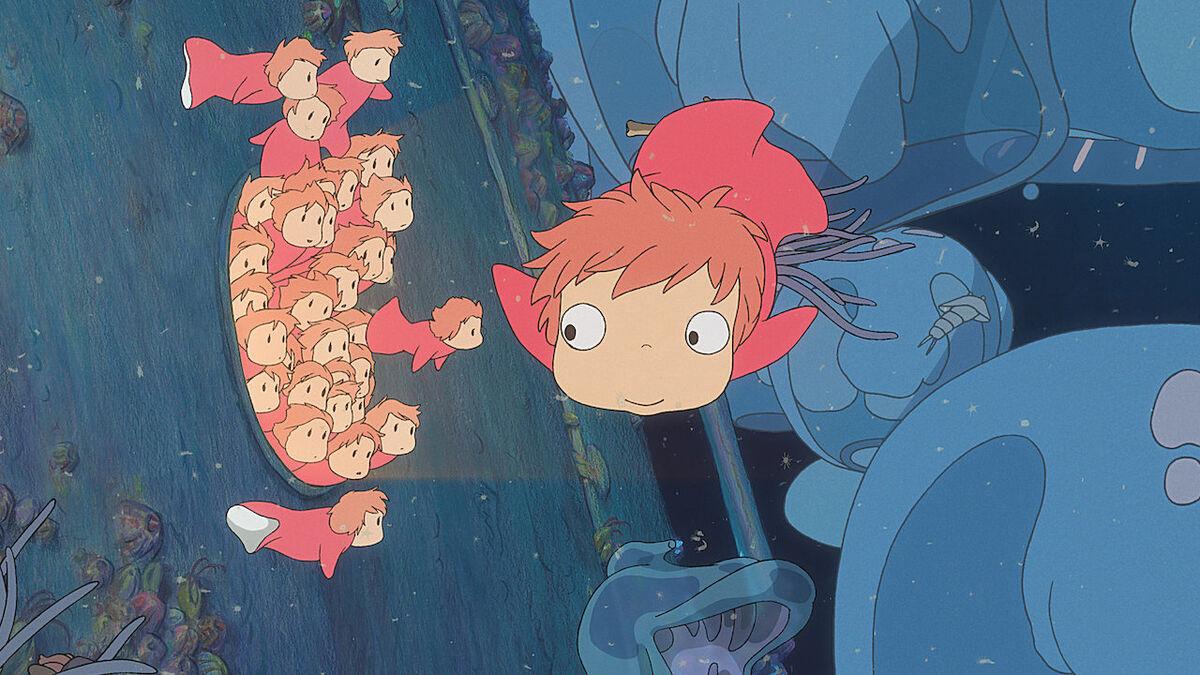 Ponyo and siblings