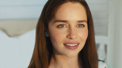 Let Us All Be Emilia Clarke's Eyebrows in 'Me Before You'