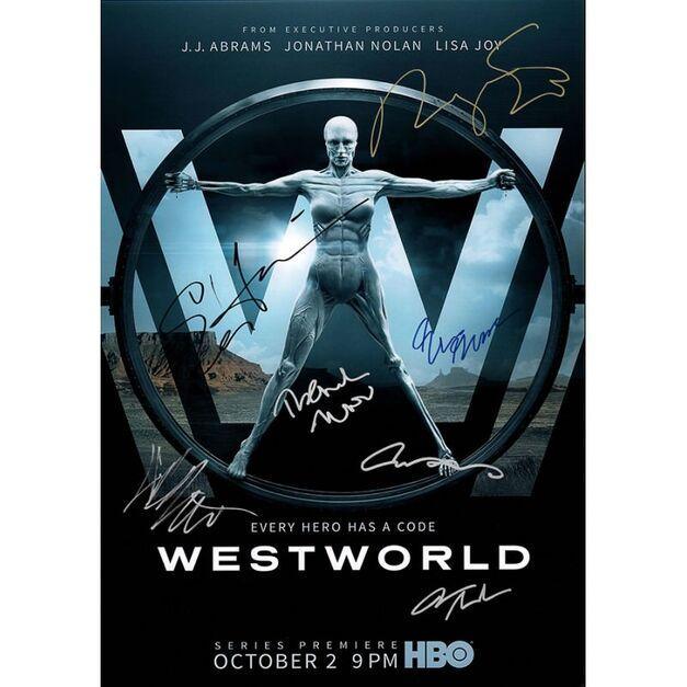westworld-autographedposter