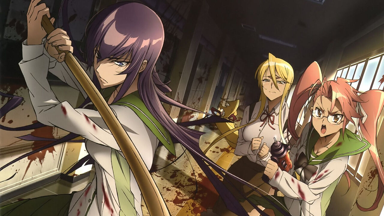 10 Zombie Anime for the Brain-Eater in All of Us  Fandom