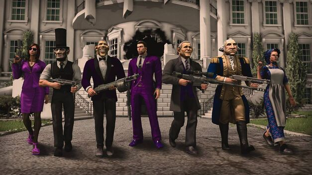 Saints Row IV Patriotism Pack