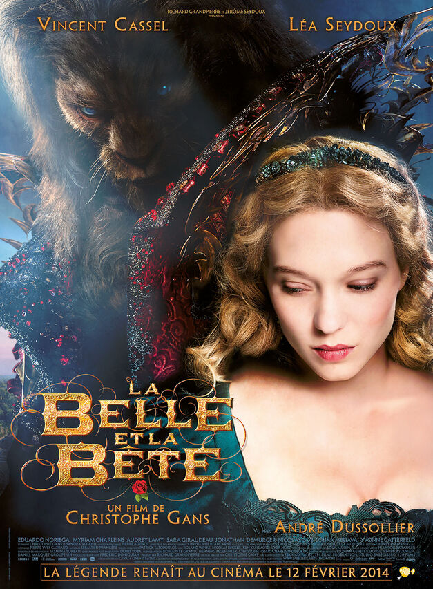 beauty and the beast film-poster-french-la-belle-et-la-bete