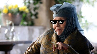 Lady Olenna Tyrell Dropped The Mic on 'Game of Thrones' and Twitter Exploded