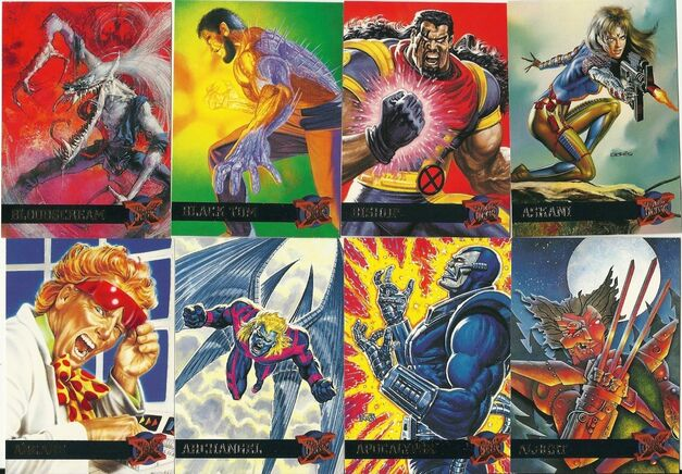 Marvel Fleer Ultra Trading Cards