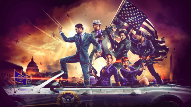 Saints Row IV Patriotism Video Game Politicians
