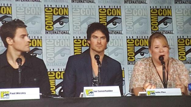 Vampire Diaries SDCC Panel