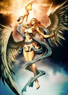 6ae38 Nike goddess of victory by GENZOMAN