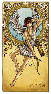 Eros God of Love by ImmortalSilver