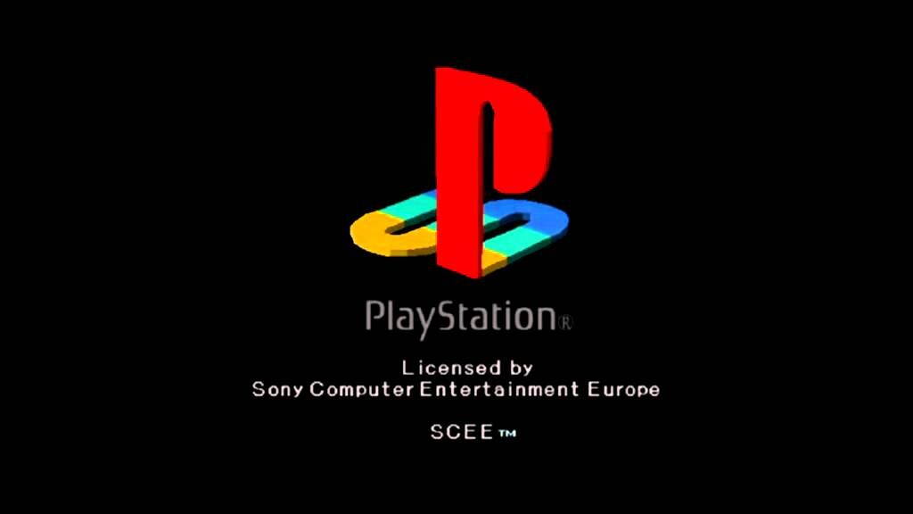 PlayStation Load Up Screen (Says Licensed by Sony Computer Entertainment Europe)