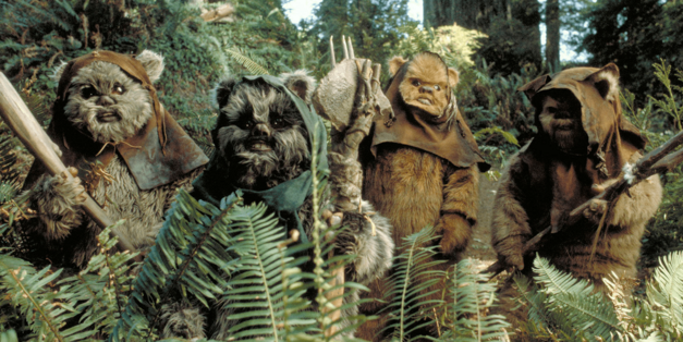 ewoks return of the jedi
