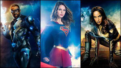 'Black Lightning' Showrunner Explains Supergirl & Vixen Name Drops