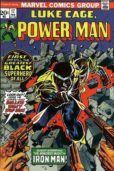 Luke Cage, Power Man comic cover