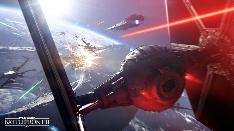 Star Wars Battlefront II TIE Fighter