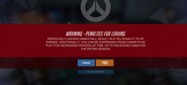 Overwatch Leavers