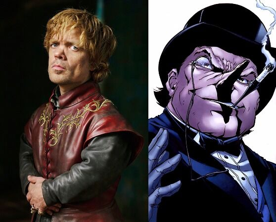 tyrion lannister penguin game of thrones dc