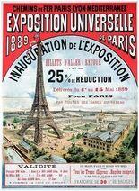 Paris 1889 plakat
