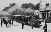 Paris Exposition train 1889