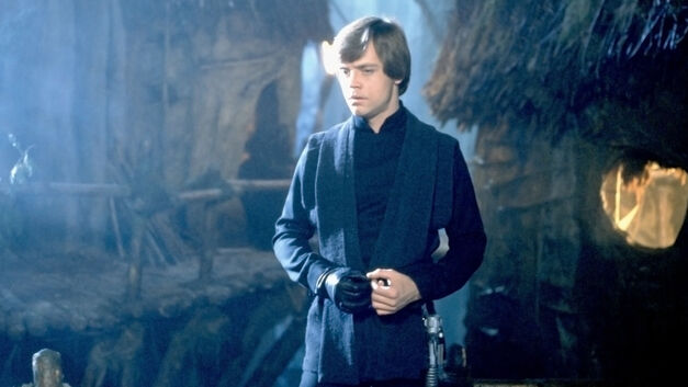 luke skywalker played by Mark Hamill in return of the jedi