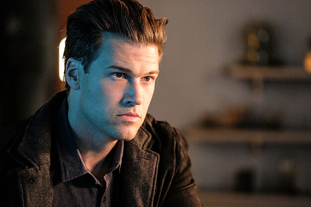 "Nick Zano as Nate Heywood in the Legends of Tomorrow Season 2 premiere, ""Out of Time."""