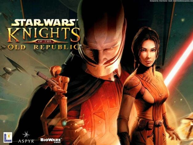 Knights of the Old Republic Background Title Star Wars KOTOR