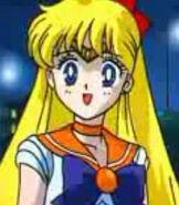 Sailor Venus in Sailor Moon R the Movie
