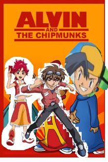 Dan kuso and the anime boys