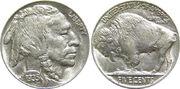 1935 US Indian Head Buffalo Nickel