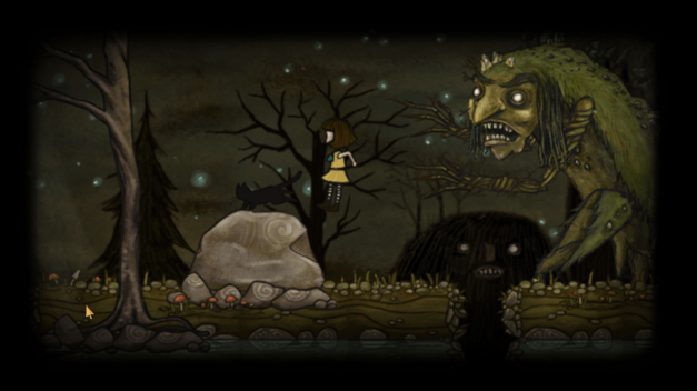 One of the monsters encountered by Fran Bow.