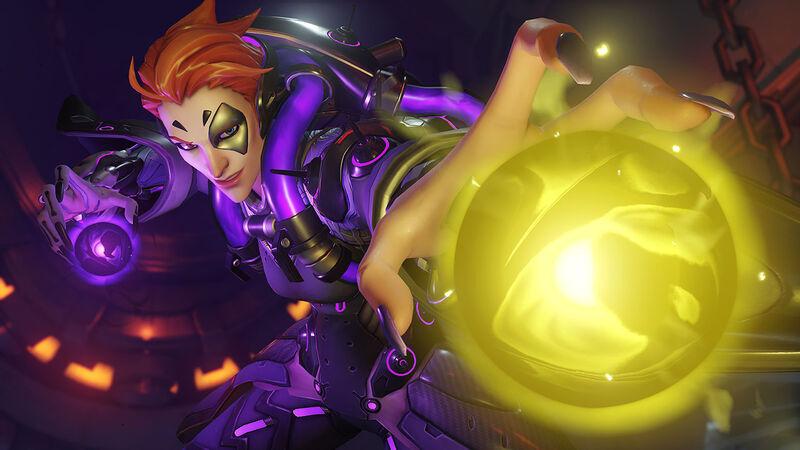 Overwatch new hero Moira reveal