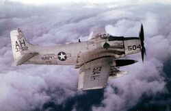 A-1H VA-152 USS Oriskany 1966