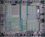 Microchip PIC16C74A die (2)