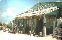 Original Drifter's Reef bar, Wake Island