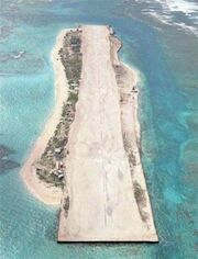French Frigate Shoals airfield aerial photo
