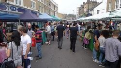 Walking around Broadway Market, Hackney, London - Saturday 6th September 2014