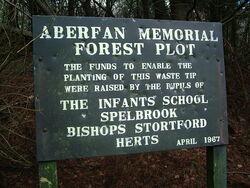 Spelbrook memorial sign - geograph.org.uk - 320968