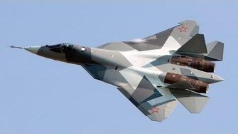 Sukhoi PAK FA (T-50) HD VIDEO-0