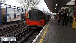 London Underground Kilburn Jubilee line ( 1996 Tube Stock )