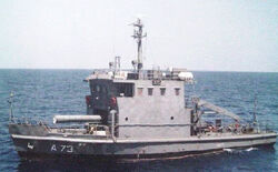 Astravahini Class torpedo recovery vessel (A73)