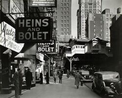 Radio Row-Berenice Abbott