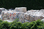 Paper recycling in Ponte a Serraglio