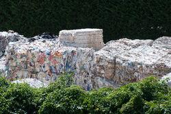 Paper recycling in Ponte a Serraglio