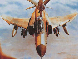 Irani F-4 Phantom II refueling through a boom