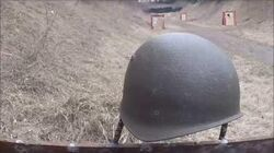 Ballistic Test Swiss M1971 Steel Army Helmet