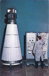 SNAP-10A atomic satellite