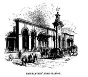 Bricklayers Arms station