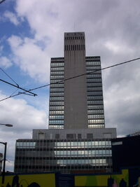CIS Tower tiled in 2002